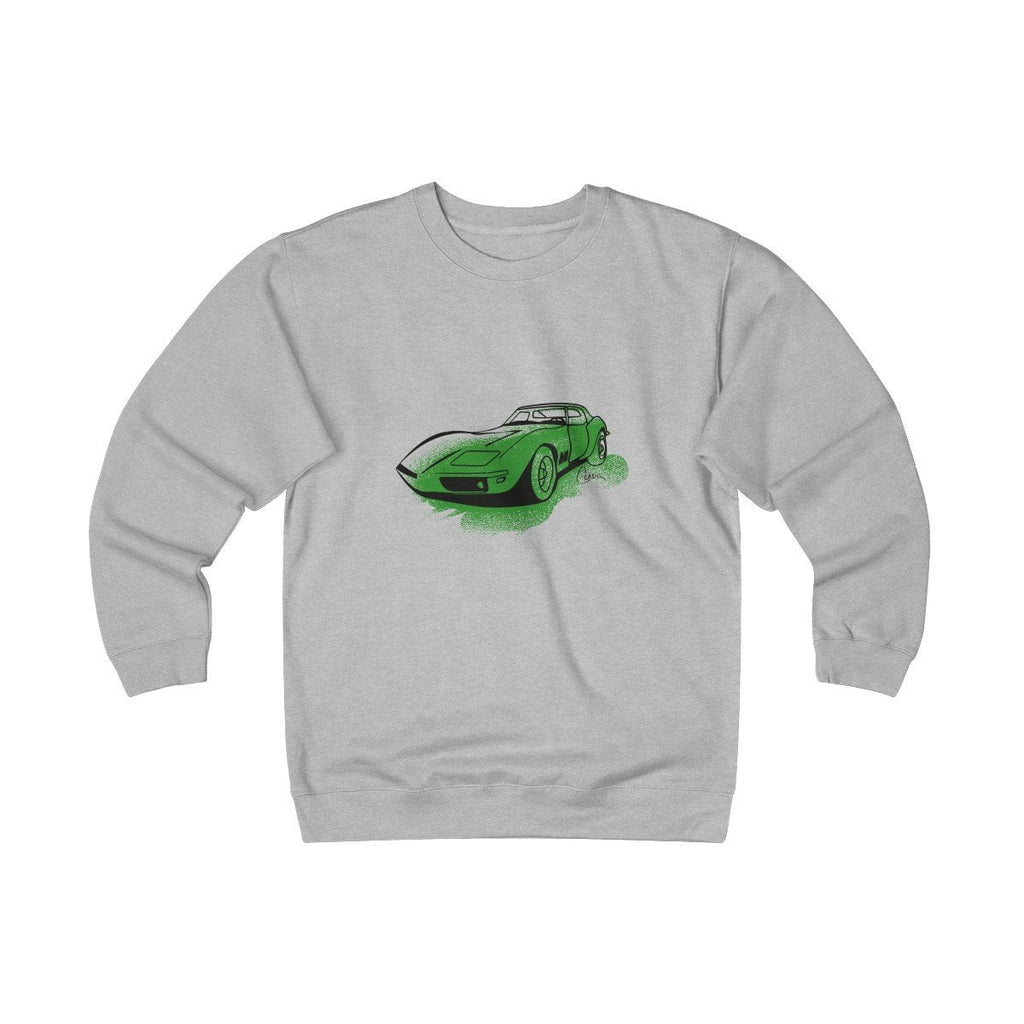 C3 Corvette Heavyweight Fleece Crew Sweatshirt