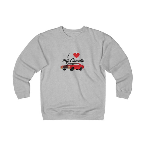 Image of Chevelle Heavyweight Fleece Crew Sweatshirt