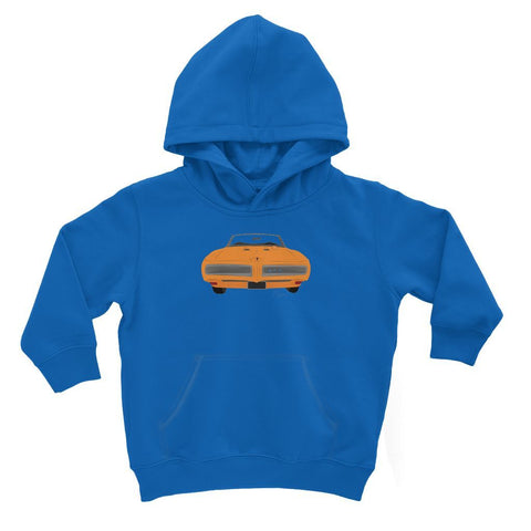 '68 GTO Orange No Slogan Kids Hoodie