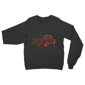 Red GMC Truck Womens Sweatshirt