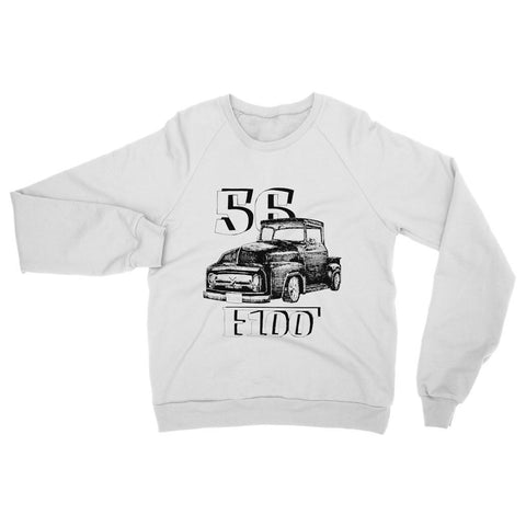 Image of 1956 Ford F-100 Truck Womens Sweatshirt