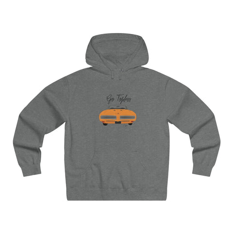 '68 Pontiac GTO Men's Lightweight Pullover Hooded Sweatshirt
