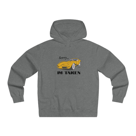 C3 Corvette Men's Lightweight Pullover Hooded Sweatshirt