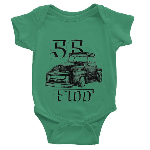 1956 Ford F-100 Truck Baby Bodysuit