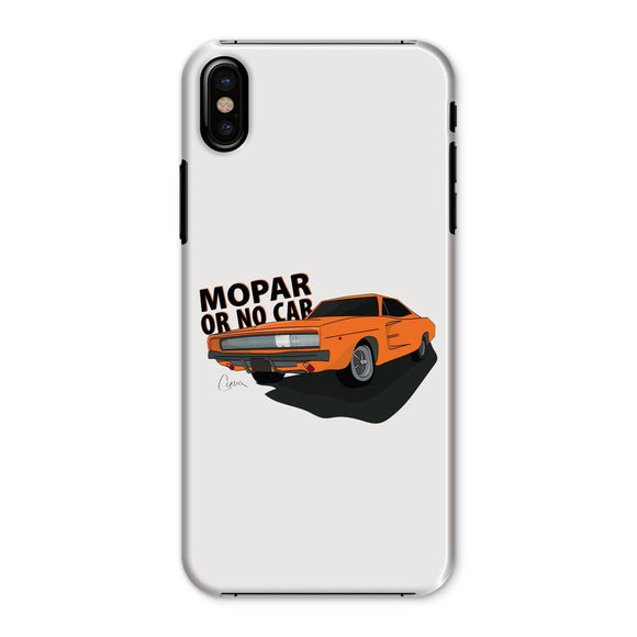 '68 Charger Orange Front Print Phone Case