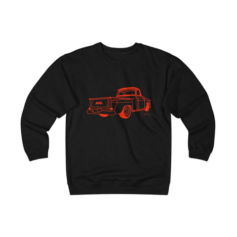 Image of GMC Truck Heavyweight Fleece Crew Sweatshirt