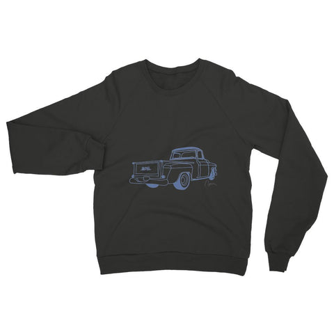 Blue GMC Truck Womens Sweatshirt