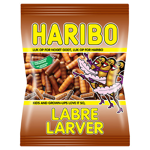 Labre Larver  - sugar covered / sweet liquorice