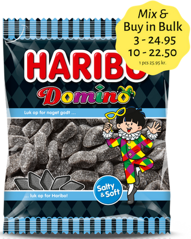 Domino - sweet liquorice - Best before date April 2021