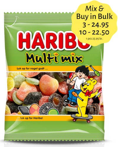 Multi Mix  - winegum / liquorice mix / sugar