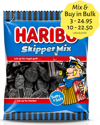 Skipper Mix - liquorice mix