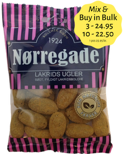 Lakrids Ugler - sweet liquorice with powder