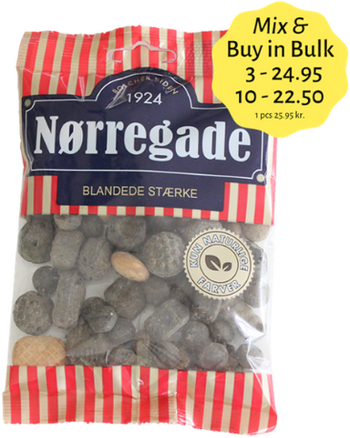 Blandede Stærke - mix of strong liquorice