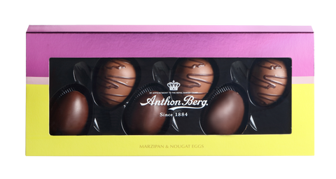 Marcipan- og Nougatæg - marzipan / nougat / chocolate -  Best before date 27 January 2020