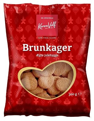 Brunkager - Danish cookies