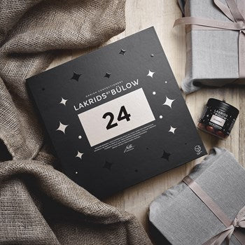 2020 Edition - LAKRIDS BY BÜLOW CHRISTMAS CALENDAR - open a liquorice surprice every day 1st - 24th December