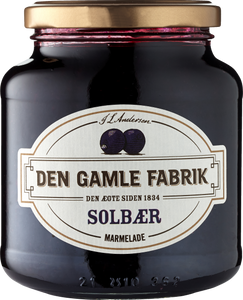 Den Gamle Fabrik Solbær Marmelade - blackcurrant - Best before date 17 September 2019