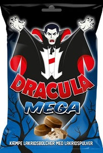 Dracula Mega - liquorice - soon out of stock - could take 2 weeks before shipping your order