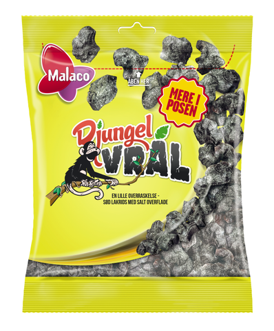 Djungelvrål - strong salty liquorice - Best before date 13 June 2020