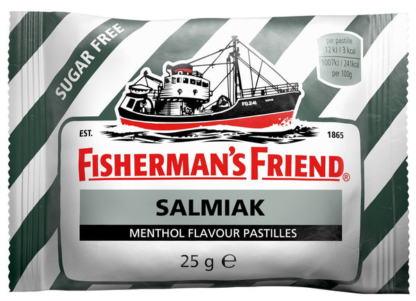 Fisherman`s Friend Salmiak 3pk - salmiac liqurice tablet