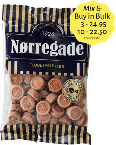 Flødetabletter - an old Danish caramel candy