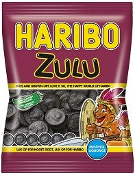 Zulu - liquorice with menthol - Best before date March 2020