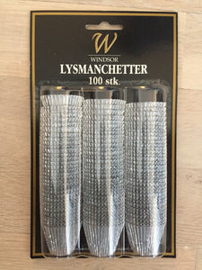 Windsor Lysmanchetter 100stk. Big pack