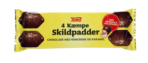 Toms Kæmpe Skildpadder 4stk - out of stock - will take up to two weeks, before shipping your order
