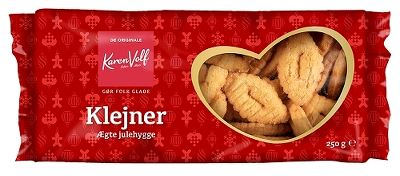 Klejner - Danish cookies - Best before date 2 March 2020