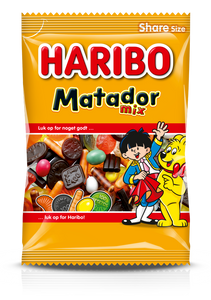 Matador Mix Big Bag - winegum / liquorice mix no. 1 in Denmark