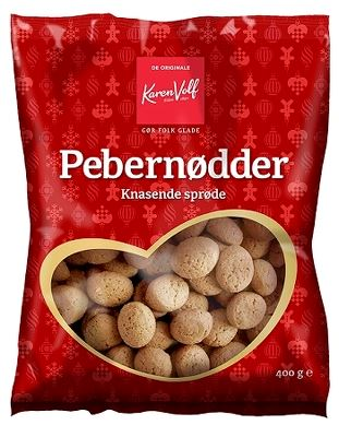 Pebernødder - Danish cookies - Best before date 26 April 2020