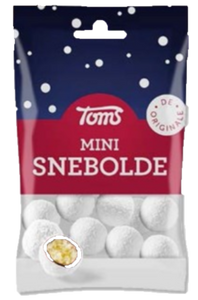 Mini Snebolde - marzipan / chocolate