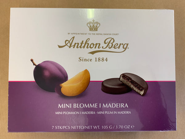 Anthon Berg Mini Blomme I Madeira - mini marzipan / chocolate / plum