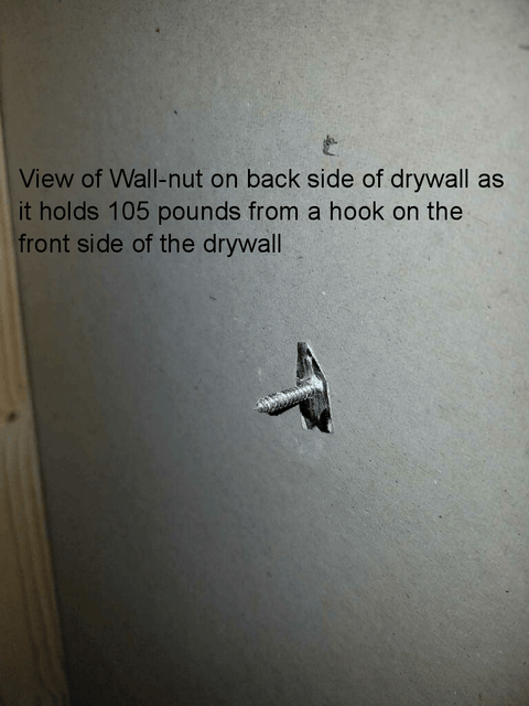 Wall-nut Ultimate Drywall Anchor - CMI Creations