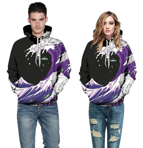 Buy CoolShirts Digital Printed Pullover Unisex Hoodie Sweatshirt