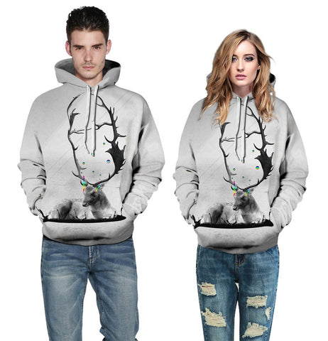 Buy CoolShirts Deer Lover Design Unisex Hoodie / Sweatshirt