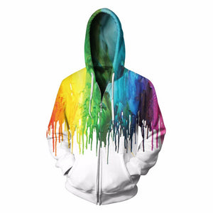 Buy CoolShirts Paint Design Pullover Hoodie Sweatshirt