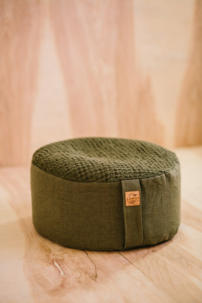 Floor Cushion / OLIVE