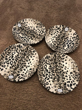 Load image into Gallery viewer, Leopard Plate Set (4pc)