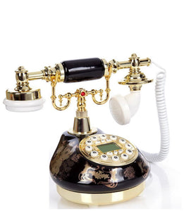 Old Fashion Antique Landline Telephone