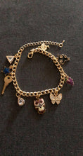 Load image into Gallery viewer, Charm Bracelet/Anklet Set