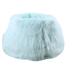 Load image into Gallery viewer, Lounge Furry Bean Bag  Chair (Cover)