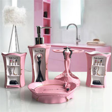 Load image into Gallery viewer, European-style Makeup Bathroom Five-piece Set