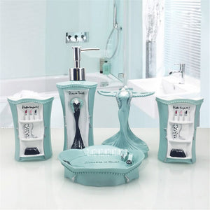 European-style Makeup Bathroom Five-piece Set
