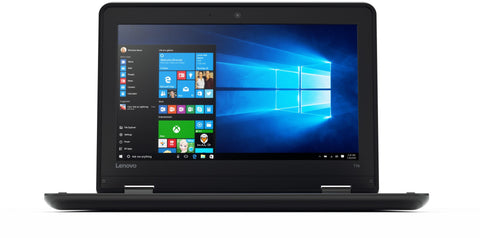 "Lenovo ThinkPad 11e Laptop - Intel N2920 1.86GHz Quad, 8GB RAM, 128GB SSD, WebCam, 11.6"" HD (1366x768), Dual Band AC Wireless + BT 4, USB 3.0, HDMI, Card Reader, Windows 10 Pro 64-Bit"