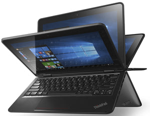 "Lenovo ThinkPad Yoga 11E Laptop - 11.6"" Touchscreen, Intel N3150 Quad-Core Processor, 128GB SSD, 4GB RAM, WebCam, Windows 10 Pro"