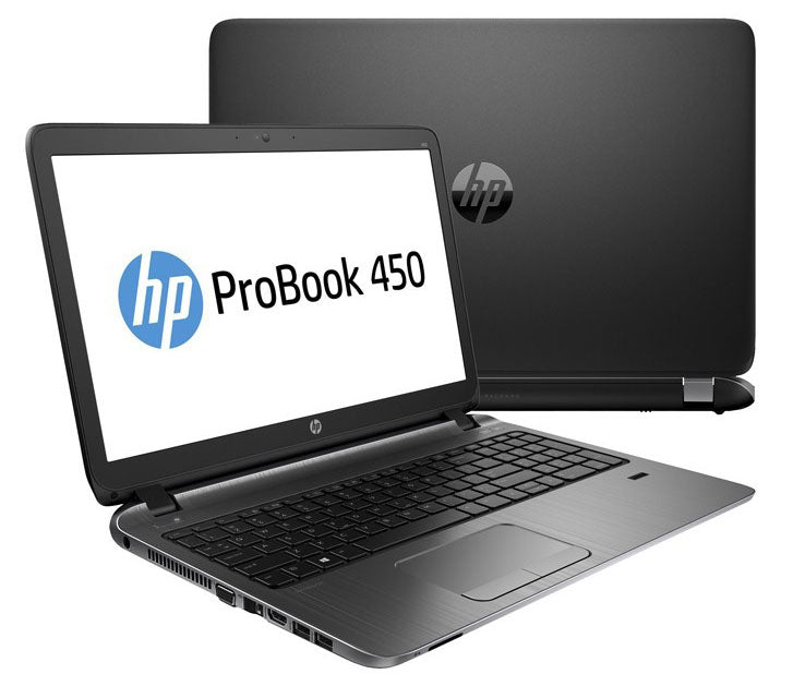 "HP ProBook 450 G2 15.6"" Laptop - 5th Gen Core i3-5005U, 8GB DDR3L, 256GB SSD, WebCam, HDMI, Win 10 Pro"