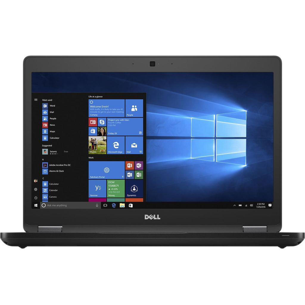 Dell Latitude 5480 Business Laptop Core i5-7300U 16GB DDR4 480GB SSD WebCam Win 10 Pro - Coretek Computers
