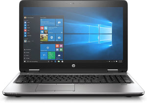 "HP ProBook 650 G3 15.6"" Business Laptop - 7th gen Intel Core i3-7100U 2.4GHz, 240GB SSD, 8GB DDR4, DVD-RW, Webcam, Windows 10 Professional"