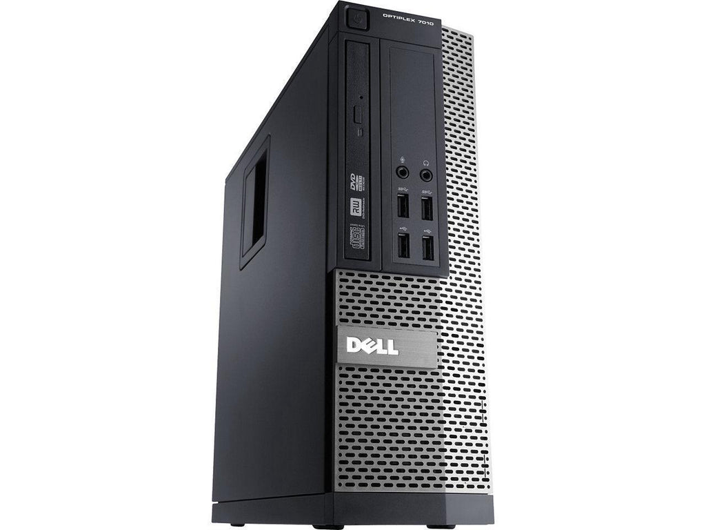Dell OptiPlex 7010 SFF - 3.40GHz Intel Core i3, 8GB RAM, 128GB SSD, DVDRW, Win 10 Pro, Keyboard & Mouse - Coretek Computers
